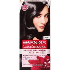Garnier Color Sensation Трайна боя за коса, 1.0 Ultra Onyx Black