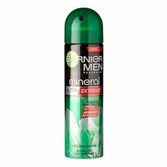 Garnier Men Mineral Extreme 72h Део спрей против изпотяване за мъже 150 мл