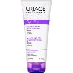 Uriage Gyn-Phy Защитен почистващ гел за интимна хигиена при чувствителна кожа и лигавица 200 мл