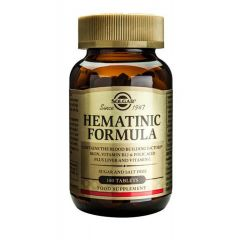 Solgar Hematinic Formula Хематиник формула х100 таблетки