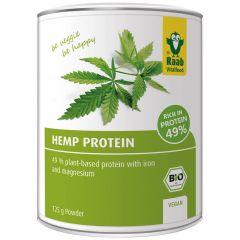 Био конопен протеин на прах 125 грама Raab Vitalfood