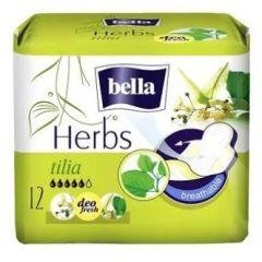 Bella Herbs Tilia Дамски превръзки с крилца 12 бр