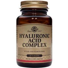 Solgar Hialuronic Acid Complex Хиалуронова киселина комплекс х30 таблетки