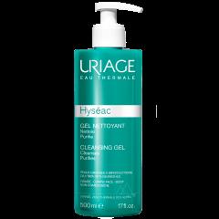 Uriage Hyseac Почистващ гел за лице и тяло за комбинирана до мазна кожа 500 мл