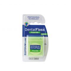 Elgydium Dental Floss Fluoride Cool Mint Конец за зъби антикариес с флуорид и ментов аромат