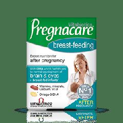 Vitabiotics Pregnacare Breast-Feeding Витамини и минерали + Омега 3 за кърмещи жени x 56 таблетки + 28 капсули