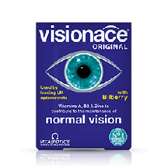 Vitabiotics Visionace Original Витамини за здрави очи и по-добро зрение x 30 капсули