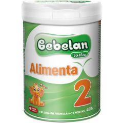 Bebelan Lacta Alimenta 2 Преходно мляко за бебета от 6-12М 400 гр