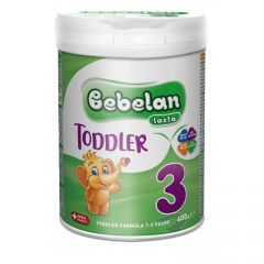 Bebelan Lacta Toddler 3 Адаптирано мляко за деца от 1-3 год 400 гр
