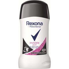 Rexona Invisible Pure Стик против изпотяване за жени 40 мл