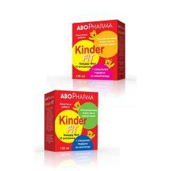 AboPharma Kinder Fit Течни Мултивитамини за деца х150 мл
