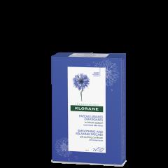 Klorane Bleuet Изглаждащи и успокояващи пачове със синя метличина и хиалуронова киселина 7 х 2 бр