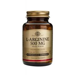 Solgar L-Arginine Л-Аргинин за здраво сърце и нормално кръвообращение 500 мг х50 капсули