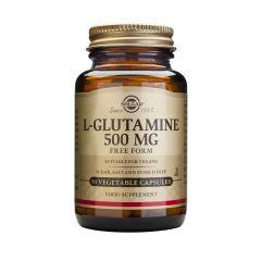 Solgar L-glutamine Л-глутамин за добро функциониране на имунната система 500 мг х50 капсули