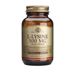 Solgar L-Lyzine Л-лизин за здрава кожа 500 мг х50 таблетки