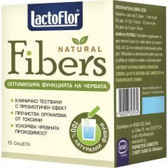 Lactoflor Natural Fibers за оптимална функция на червата х15 сашета