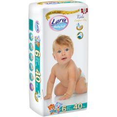 Пелени Lara Premium №6 16+ кг х40 бр