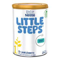 Nestle Little Steps 1 Мляко на прах за кърмачета 0-6М 400 гр