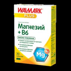 Walmark Магнезий + Витамин Б6 х 30 таблетки