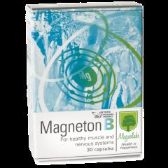 Magneton B в подкрепа на мускулите и нервната система 30 капсули Magnalabs