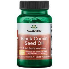 Swanson Black Cumin Seed Черен кимион семена 500 мг х 60 капсули