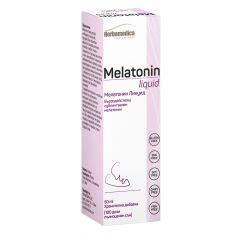 Herbamedica Melatonin liquid Мелатонин Ликуид при безсъние и стрес 50 мл