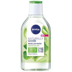 Nivea Naturally Good Мицеларна вода за лице 400 мл