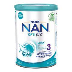 Nestle NAN Optipro 3 HM-O Обогатена млечна напитка 12+ 400 гр