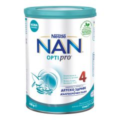 Nestle NAN Optipro 4 Обогатена млечна напитка за малки деца 24М+ 400 гр