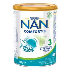 Nestle NAN Comfortis 3 Обогатена млечна напитка 12М+ 800 гр.