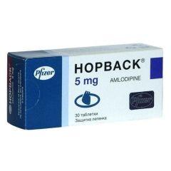 Норваск 5 мг х30 таблетки Phizer