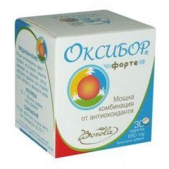 Borola Oxybor Forte Оксибор Форте мощна комбинация от антиоксиданти 650 мг х30 капсули