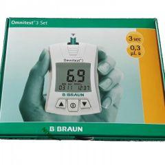 Omnitest 3 Сет Глюкомер за измерване на кръвна захар B Braun