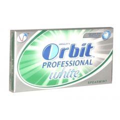 Orbit Professional White Sparemint Дъвки за чисти и бели зъби х14 мини ленти
