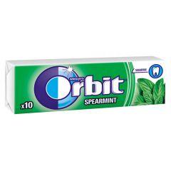 Orbit Spearmint Дъвки с ментов вкус х10 дражета