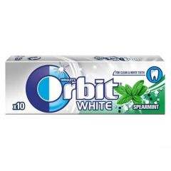 Orbit White Spearmint Дъвки с ментов вкус за блестяща усмивка х10 дражета