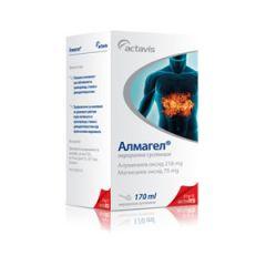 Алмагел Суспензия при киселини х170 мл Actavis