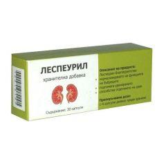 Леспеурил подпомага функцията на бъбреците х30 капсули