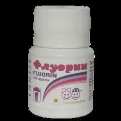 Флуорин за здрави зъби х 100 таблетки за смучене Панацея 2001
