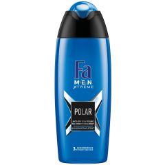 Fa Men Xtreme Polar Душ-гел за мъже 3в1 за коса, лице и тяло 400 мл
