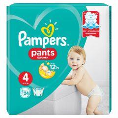 Пелени - гащички Pampers Pants Размер 4 Maxi 24 бр