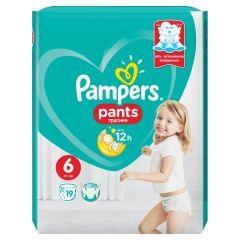 Пелени - гащички Pampers Pants Размер 6 XL 19 бр