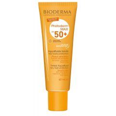 Bioderma Photoderm Max Слънцезащитен аквафлуид със златистцвят SPF50+ 40 мл