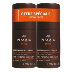 Nuxe Men Рол-он дезодорант против изпотяване за мъже 2 х 50 мл Комплект