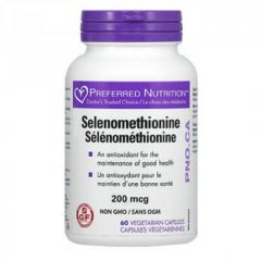 Natural Factors Selenomethionine Селен антиоксидант 200 мг х 60 капсули