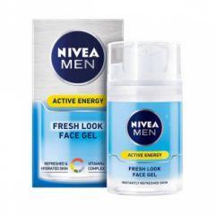 Nivea Men Active Energy Крем-гел за лице за мъже 50 мл