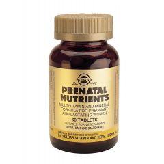 Solgar Prenatal Nutrients Пренатал Нютриентс за бременни x60 таблетки