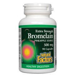 Natural Factors Bromelain Бромелаин за добро храносмилане 500 мг х 90 капсули