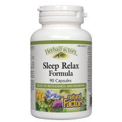 Natural Factors Sleep Relax Formula при безсъние и безпокойствo 325 мг х 90 капсули