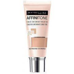 Maybelline Affinitone Хидратиращ фон дьо тен за всеки тип кожа, 30 Sand Beige